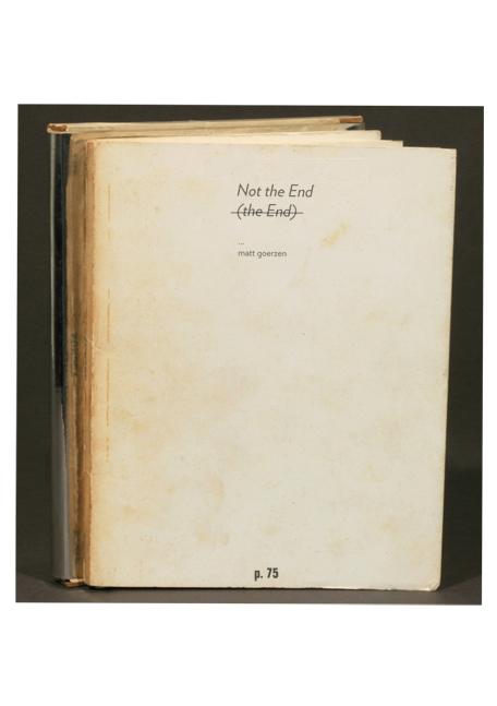 The End by Matt Goerzen